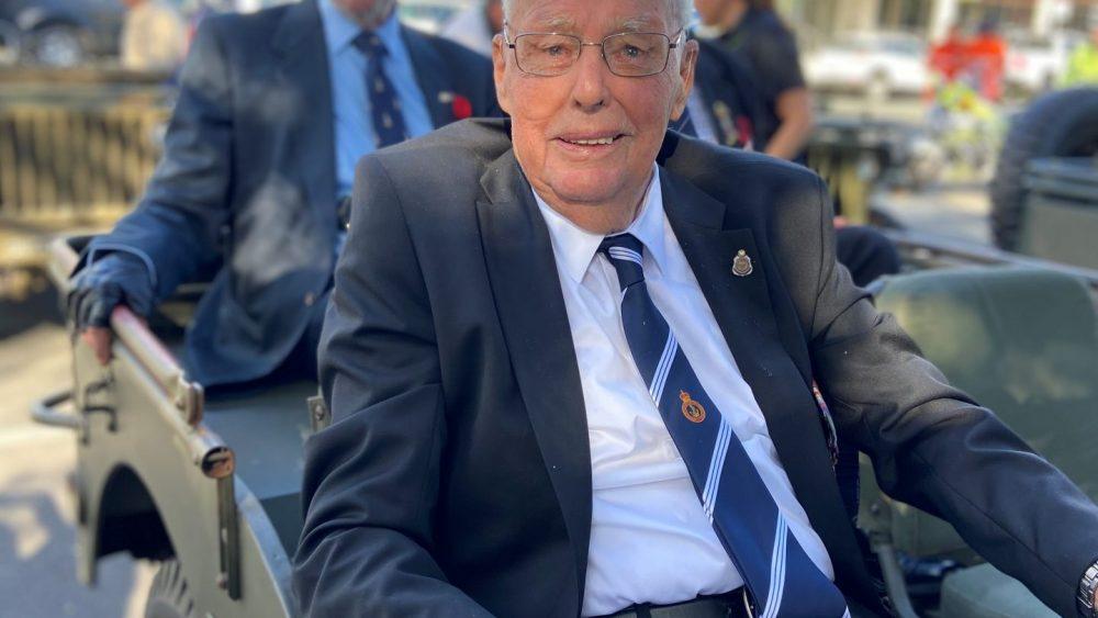 Bill White at ANZAC Day 2021